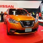 Nissan Kicks front at 2016 Bogota Auto Show second image