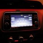Nissan Kicks infotainment system at 2016 Bogota Auto Show