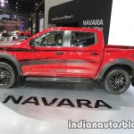 Nissan Navara Black Edition left side at 2016 Thai Motor Expo