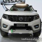 Nissan Navara EnGuard Concept front at 2016 Thai Motor Expo