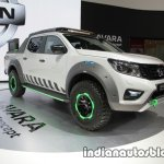 Nissan Navara EnGuard Concept front three quarters at 2016 Thai Motor Expo