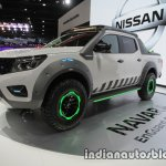 Nissan Navara EnGuard Concept front three quarters left side at 2016 Thai Motor Expo