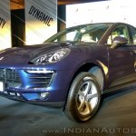 Porsche Macan R4 front three quarters left side