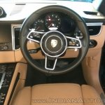Porsche Macan R4 interior dashboard driver side