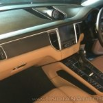 Porsche Macan R4 interior dashboard side view