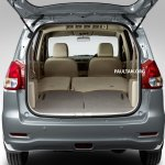 Proton Ertiga boot rear seats folded