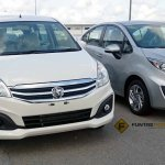 Proton Ertiga front spied ahead of launch