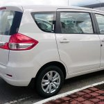 Proton Ertiga side spied ahead of launch