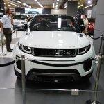 Range Rover Evoque Convertible front at 2016 Bogota Auto Show