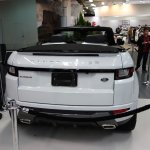 Range Rover Evoque Convertible rear at 2016 Bogota Auto Show second image