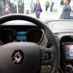 Renault Captur (Renault Kaptur) dashboard driver side at 2016 Bogota Auto Show
