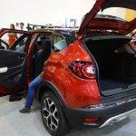 Renault Captur (Renault Kaptur) doors open at 2016 Bogota Auto Show