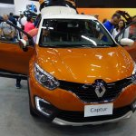 Renault Captur (Renault Kaptur) front at 2016 Bogota Auto Show  second image