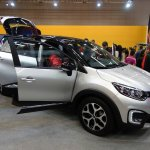 Renault Captur (Renault Kaptur) front three quarters at 2016 Bogota Auto Show