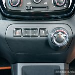 Renault Kwid 1.0L Easy-R AMT center console Review