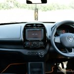 Renault Kwid 1.0L Easy-R AMT dashboard Review