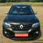 Renault Kwid 1.0L Easy-R AMT front Review