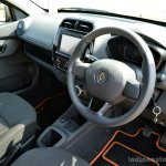 Renault Kwid 1.0L Easy-R AMT interior Review
