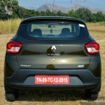 Renault Kwid 1.0L Easy-R AMT rear Review