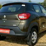 Renault Kwid 1.0L Easy-R AMT rear quarter Review