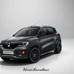 Renault Kwid RenaultSport front three quarter rendering
