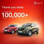 Renault Kwid hits 1 lakh mark