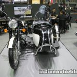 Royal Enfield Classic 500 sidecar front at Thai Motor Expo.jpg