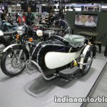 Royal Enfield Classic 500 sidecar front three quarter at Thai Motor Expo.jpg