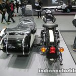 Royal Enfield Classic 500 sidecar rear at Thai Motor Expo.jpg