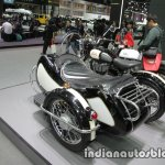 Royal Enfield Classic 500 sidecar rear three quarter at Thai Motor Expo.jpg