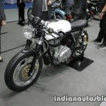 Royal Enfield Continental GT Libero Moto front three quarter left at Thai Motor Expo