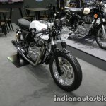 Royal Enfield Continental GT Libero Moto front three quarter right at Thai Motor Expo