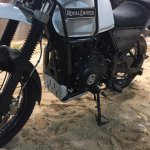 Royal Enfield Himalayan engine at EICMA 2016