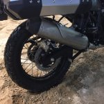Royal Enfield Himalayan wheel at EICMA 2016