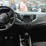 suzuki-baleno-dashboard-at-the-bogota-motor-show
