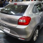 suzuki-baleno-rear-three-quarter-at-the-bogota-motor-show
