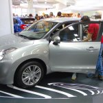 suzuki-baleno-side-at-the-bogota-motor-show