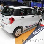 Suzuki Celerio Limited rear three quarter at Thai Motor Expo