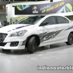 Suzuki Ciaz RS with body graphics front three quarter 2016 Thai  Motor Expo