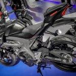 Suzuki GSX-S150 black side at IMOS 2016