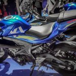 Suzuki GSX-S150 racing livery side at IMOS 2016