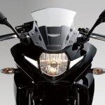 Suzuki GSX250R black headlamp