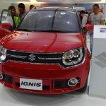 Suzuki Ignis front at 2016 Bogota Auto Show