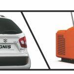 Suzuki Ignis iUNIQUE rear fascia