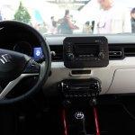 Suzuki Ignis interior dashboard at 2016 Bogota Auto Show