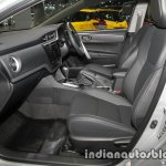 Toyota Corolla ESport front seats at 2016 Thai Motor Expo