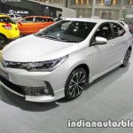 Toyota Corolla ESport front three quarters at 2016 Thai Motor Expo
