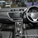 Toyota Corolla ESport interior dashboard at 2016 Thai Motor Expo