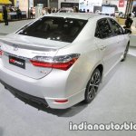 Toyota Corolla ESport rear three quarters at 2016 Thai Motor Expo