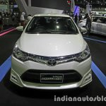 Toyota Vios Exclusive front at the Thai Motor Expo Live